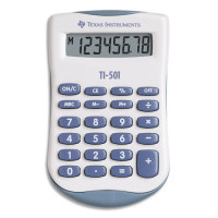 CALCULATRICE DE POCHE TEXAS TI501 4 OPERATIONS