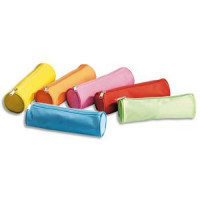 TROUSSE RONDE POLYESTER 22X7CM COUL ASS